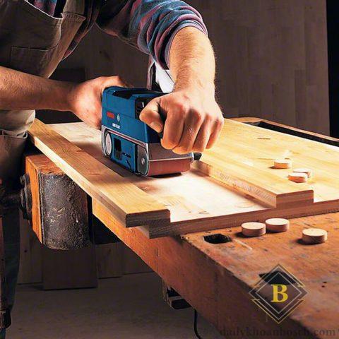 Bosch GBS 75 A cho tính ứng dụng mạnh mẽ trong ngành gỗ