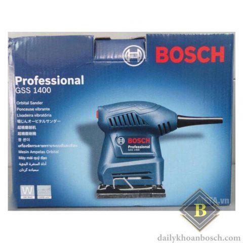 Vỏ ngoài máy chà nhám vuông Bosch GSS 1400