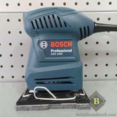 Hình ảnh thực tế dòng máy chà nhám vuông Bosch GSS 1400