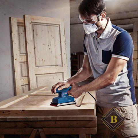 Máy chà nhám rung Bosch GSS 2300 cho tính ứng dụng mạnh mẽ trong ngàng gỗ
