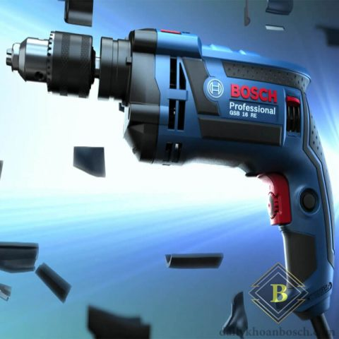 Bosch GSB 16 RE sử dụng công nghệ tiên tiến nhất cho hiệu năng vượt trội