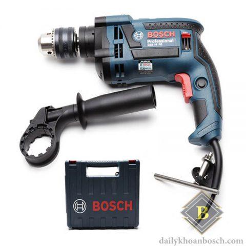 Bosch GSB 16 RE nhỏ gọn tiện dụng cho tính linh hoạt cao trong công việc