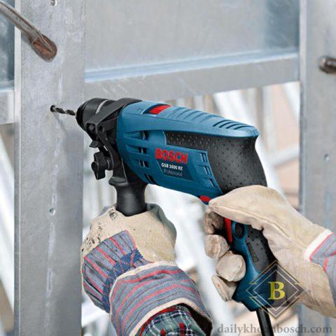 Máy khoan động lực Bosch GSB 16 RE cho tính ứng dụng thực tế cao trong nhiều ngành nghề
