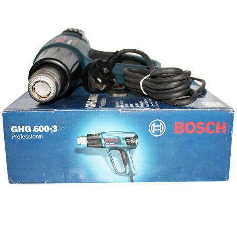 Máy thổi hơi nóng bosch GHG 600-3 hiện đại góp phần cải thiện tối đa hiệu suất lao động