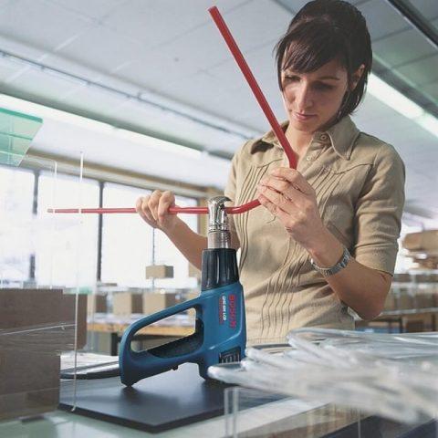 Máy thổi hơi nóng Bosch GHG mang tới sự hỗ trợ đa dạng trong nhiều ngành nghề