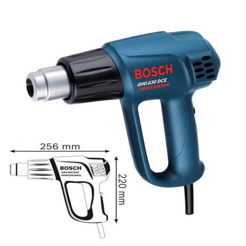 Thiết kế nhỏ gọn mang tới nhiều tiện lợi từ dòng máy thổi hơi nóng Bosch GHG 630 DCE
