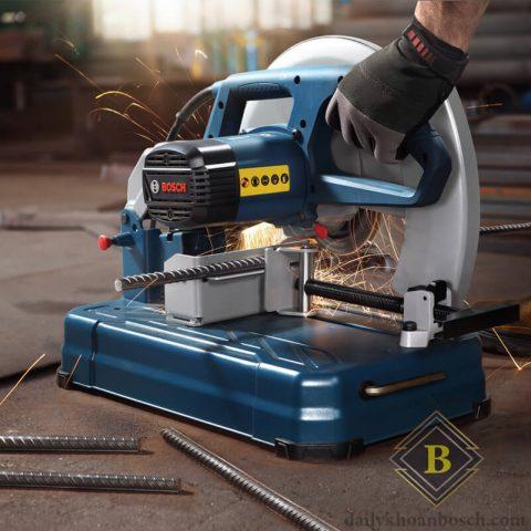 Bosch GCO 14-24 cung cấp các điều kiện thi công thuận lợi giúp thực thi công việc dễ dàng