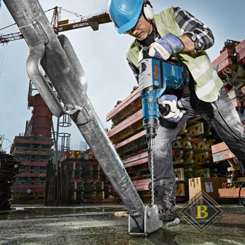 Bosch GBH 8-45 D giải pháp chuyên nghiệp trong công trường xây dựng