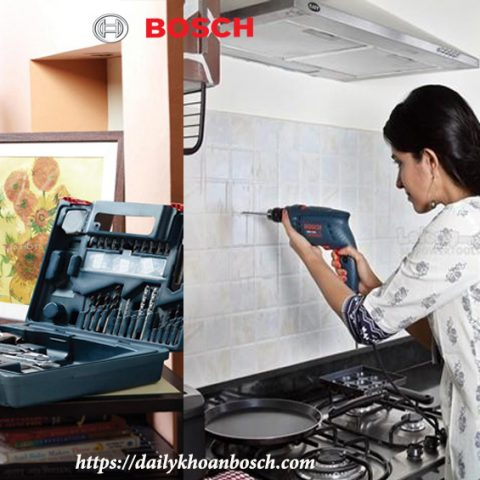 Bosch GSB 550 SET thích hợp sử dụng cho mọi thành viên trong gia đình