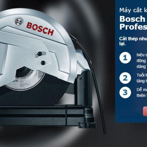 Đặc tính nổi bật của dòng máy cắt kim loại Bosch GCO 220