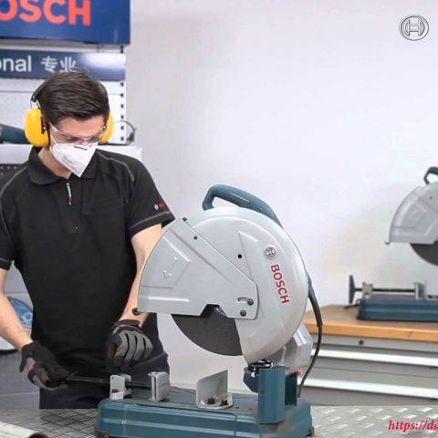 Máy cắt sắt Bosch GCO 220 dễ dàng sử dụng trong hàng loạt các ứng dụng