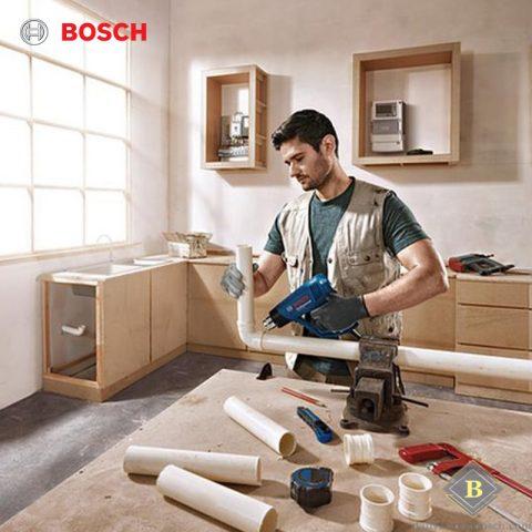 Uốn ống nhựa và kim loại dễ dàng cùng máy thổi khí nóng Bosch GHG 18-60