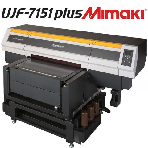 Máy in Mimaki UJF-7151 PLUS cho hiệu suất cao trong công việc