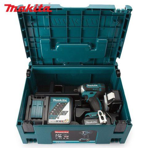 Máy vặn vít dùng pin Makita DTD152RME tiện lợi với hộp nhựa chắc chắn
